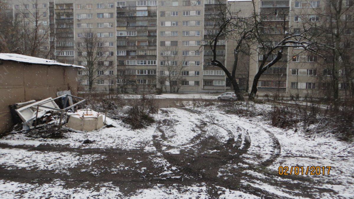 degradētā teritorija Maskavas ielā 207