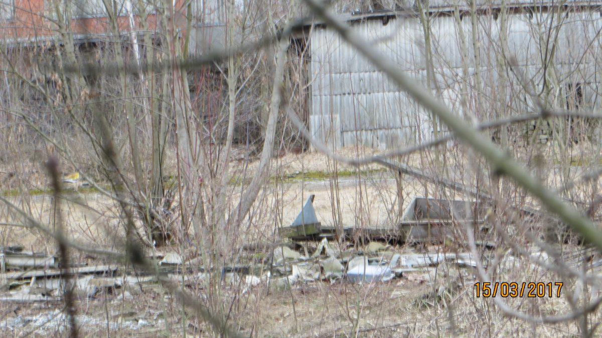 degradētā teritorija Maskavas ielā 239