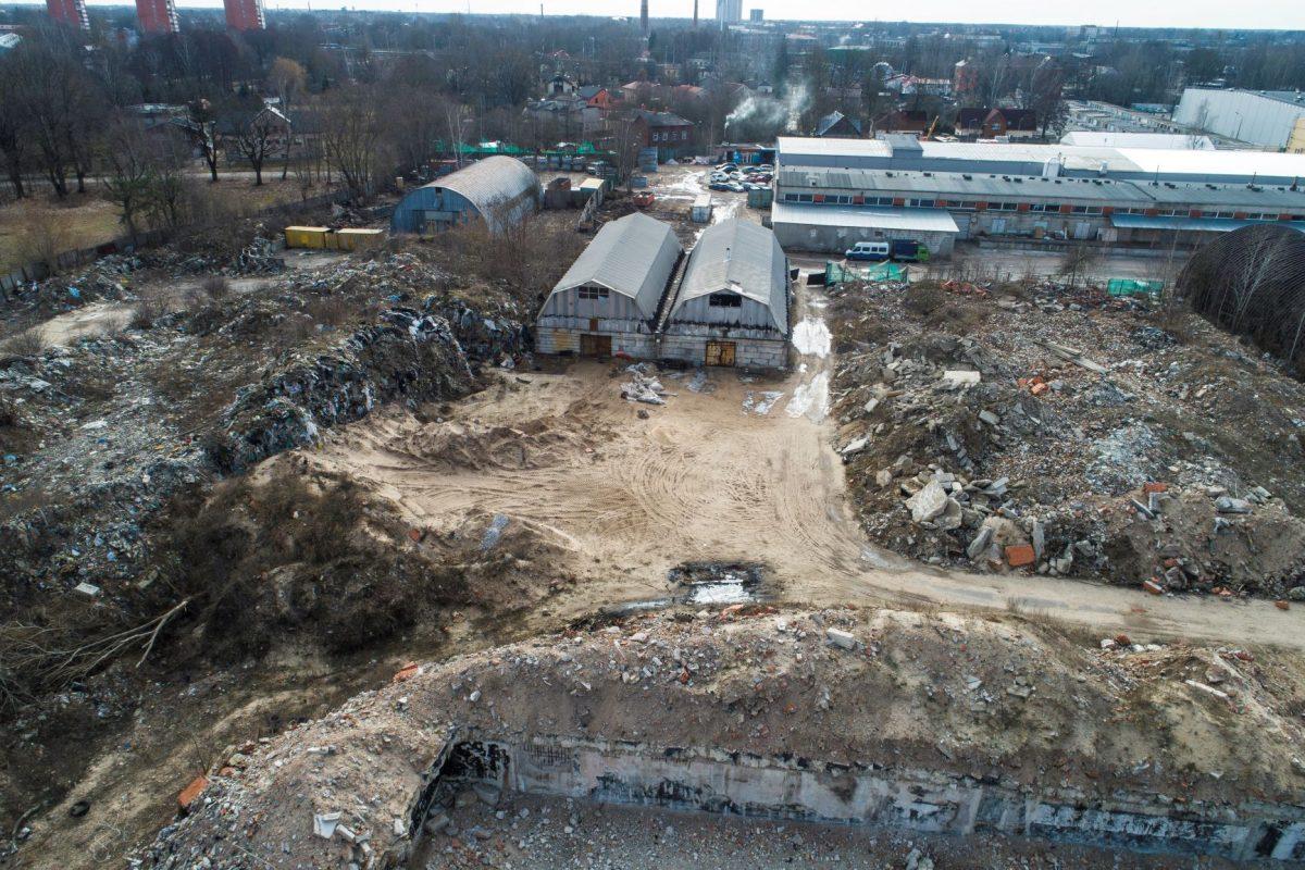 degradētā teritorija Kurzemes prospektā 3E
